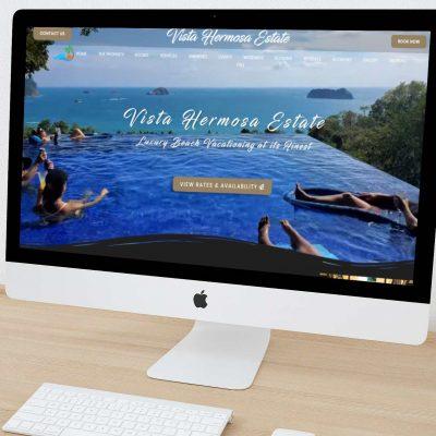 hospitality website design